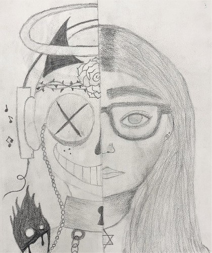 Self-portrait by Sophia Efron