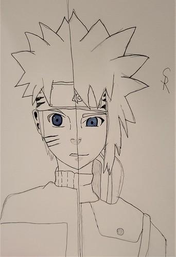 Naruto/Minato by Shawn Debley
