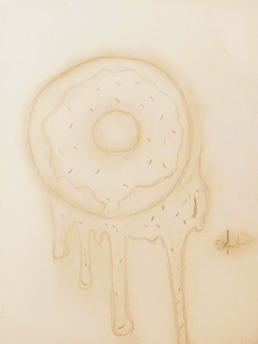 Dripping Donut by Sarila Draine