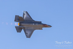 October 17, 2021 - An F-35 Lightning performs at the Great Colorado Air Show. (Tony's Takes)
