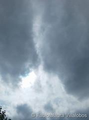 October 12, 2021 - Dramatic clouds as a storm passes. (Fabiolalaura Villalobos)