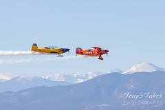 October 16, 2021 - Two performer flyby at the Great Colorado Air Show. (Tony's Takes)