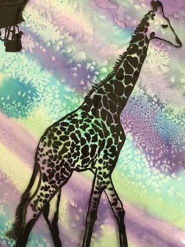 Giraffe Fantasy by Mariah Morrison