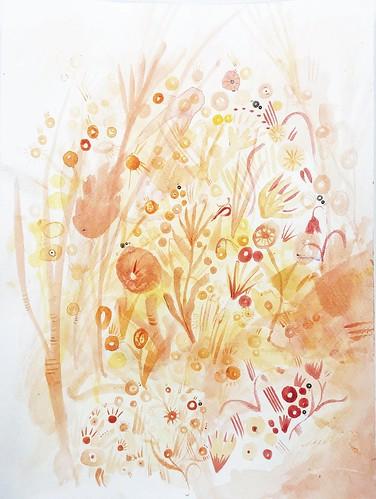 Flowers in the Sun by Grace Lohengrin Vives