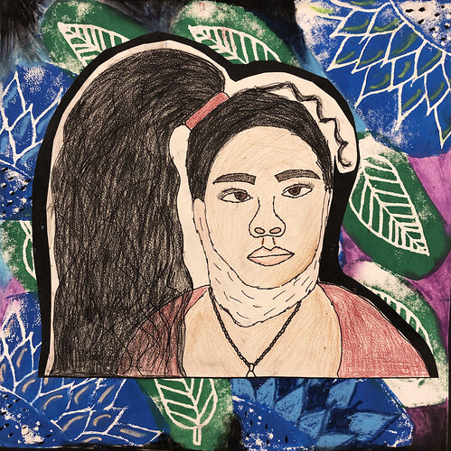 Self Portrait by Esmeralda Aguilar