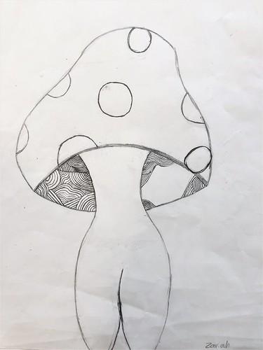 Mushroom by Zariah McLendon