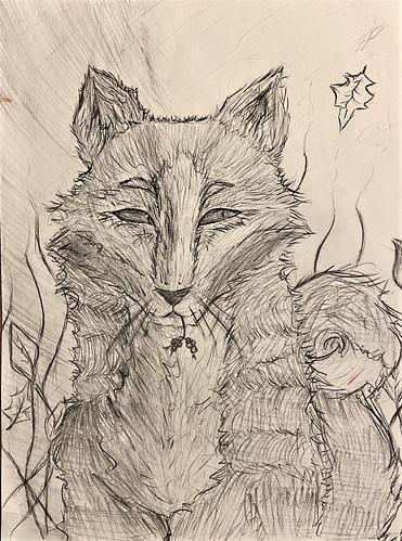 Drawn Fox by Sierra White