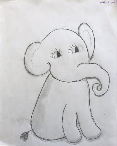 Stuffed Elephant by Payton Kirk & Alex McMasters