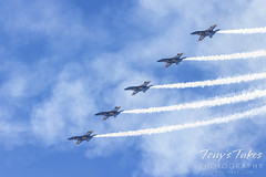 October 17, 2021 - The Blue Angels perform in northern Colorado. (Tony's Takes)