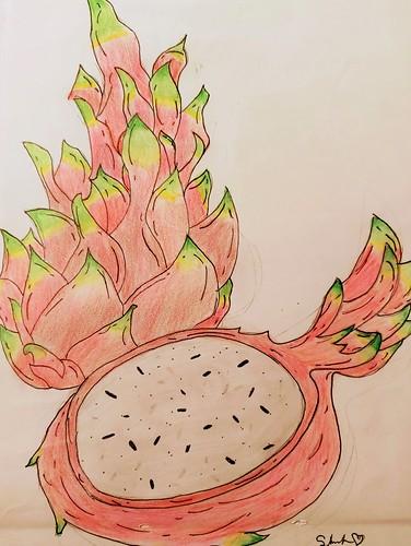 Dragon Fruit by Sarila Draine