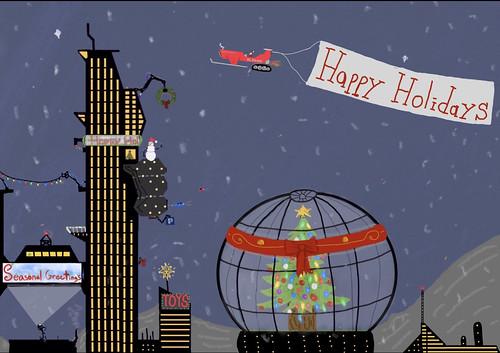 Futuristic Christmas and Holidays by Kartikeya Rajderkar