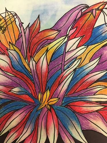 Color Explosion by Beatrix Dold