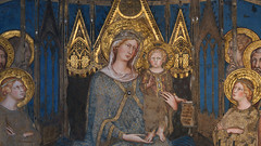 Simone Martini, Maestà (detail)