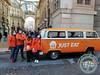 Il Team in Galleria Vittorio Emanuele