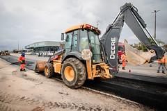 21.10.21 - Prefeitura atua na finalização da obra de construção da nova faixa de acesso á Orla da Manaus Moderna