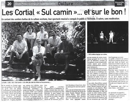 """Les Cortial """"Sul camin"""""""