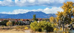 October 24, 2021 - Beautiful fall day on the Front Range. (David Canfield)