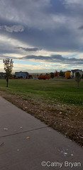 October 24, 2021 - Cool skies over Thornton. (Cathy Bryan)