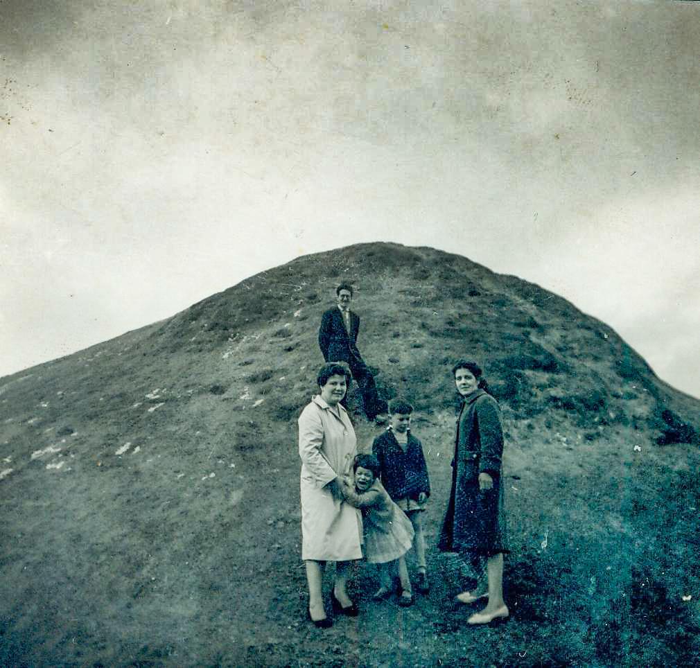 Helen Murphy,  Sugarolly Mountains, 1962.