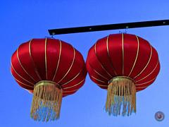 from elsewhere - venus d'ailleurs (Pendore) Tags: street colors sign couleurs rue publicité chineselanterns lanterneschinoises asianmassages lieudemassages