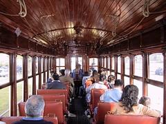 Interior Fumista-bogie 269 (ernstkers) Tags: trolley tranvia tramvia tram streetcar stcp stcp269 fumista 269 porto portugal eléctrico strasenbahn museum bonde spårvagn