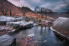 Glen Nevis (gcfotographos) Tags: uk winter sky water landscape scotland highlands nikon alba britain ngc glen campbell watermotion d700 beautyofwater greatbritishlandscape nikon1635mm