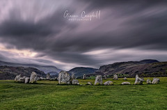 Castlerigg Stone Circle (gcfotographos) Tags: uk longexposure autumn light england mountains fall grass clouds sunrise landscape dawn lowlight nikon britain hill ngc lakedistrict sigma campbell autumnal atmospheric daybreak stonecircle sigma2470mm sunriselight d700 scenicsnotjustlandscapes greatbritishlandscape cloudmotion graemecampbell