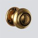 "Price: please contact usMaterial: cast-brassFinish: polished-brass (unlacquered) Please note that solid brass or bronze hardware can be polished to its original shine or darkened to a variety of finishes (ex. antique-brass or oil-rubbed bronze).  This antique doorknob set has a 7mm x 7mm thick spindle which is compatible with most mortise-lock models.  Spindle lengths can be adjusted to different door thickness upon request.Custom plated finishes available for approximately $100/set (ex. satin-nickel, polished-nickel, satin-chrome, polished-chrome, flat-black, bright-black , etc).  Please contact us for details (priced upon request).  Function Options:&gt; add $20/pair for single-dummy doorknobs  &gt; add $5/set for double-dummy set &gt; add $35/set for tubular passage (2-⅜&quot; or 2-¾&quot; backset)   &gt; add $75-$95+/set for mortise-lock (passage) &gt; add $105/set for tubular privacy (2-⅜&quot; or 2-¾&quot; backset)  &gt; add $115-$145+/set for mortise-lock (privacy)    Please contact us for current availability (price subject to change).  <a href=""http://www.thedoorstore.ca"" rel=""noreferrer nofollow"">www.thedoorstore.ca</a>"