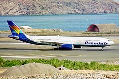 OY-VKH 1 Airbus A330-343X Premiair LPA 01NOV00 (Ken Fielding) Tags: ohvkh airbus a330343x premiair aircraft airplane airliner jet jetliner widebody aviation