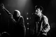 Charlie Harper & Steve Straughan (dprezat) Tags: music paris rock set concert nikon punk live gig harper gibbs uksubs scène straughan nikond800 petitbain bw blackwhite nb monochrome noiretblanc d800
