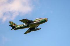 Canadair Sabre (dprezat) Tags: canadair cl13b f86 sabre mk6 chasseur turboréacteur airshow airplane aircraft avions meeting warbirds lafertéalais nikond800 nikon d800