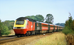 Virgin HST At Saltney Junction. (Neil Harvey 156) Tags: railway 43098 therailwaychildren 43063 saltneyjunction chester class43 hst virginwestcoast virgintrains intercity125