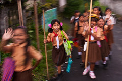 Bali School Children