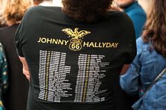 Messe à la mémoire de Johnny Hallyday (dprezat) Tags: paris johnnyhallyday johnny smet hommage messe madeleine fan portrait people nikond800 nikon d800