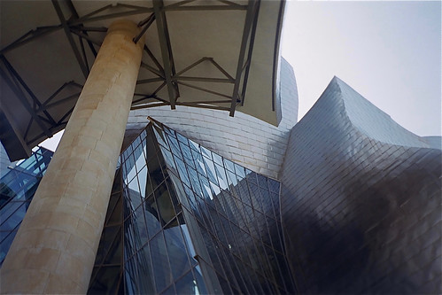 Pillar, Glass and Steel