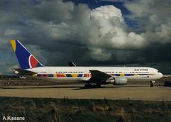 AIR 2000 B767 G-OOAN (Adrian.Kissane) Tags: b767 shannon air2000 gooan 26256 shannonairport plane sky aircraft airline outdoors