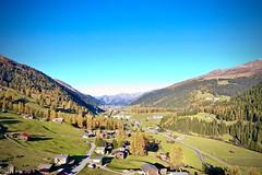 Blick Richtung Davos