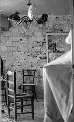 INTERIOR DE VIVENDES DE LA OBRA SINDICAL DEL HOGAR (Manel Armengol / Files) Tags: sabadell vivenda barris barriada construcció urbanisme vivienda sindicaldelhogar theseventies 1970s barcelonaañossetenta bwphotography bwphotographs manelarmengol monochromephotographs monochrome silvergelatinprints collection barcelonaphotographs
